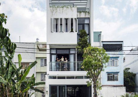 Nhà 4 tầng 5 x 20 m