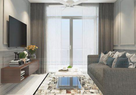 thiết kế nội thất căn