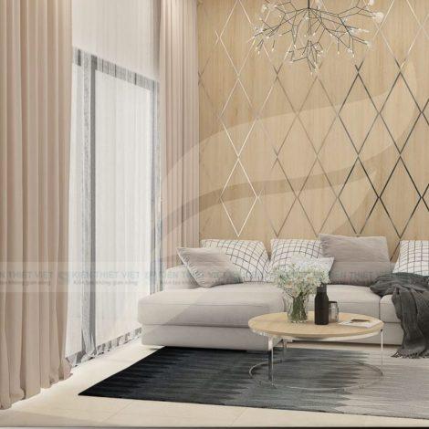 thiết kế nội thất căn hộ 92 m2