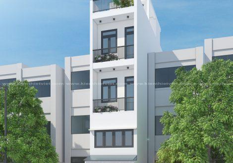 Nhà 4 tầng có tầng tum