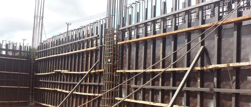 bê tông cốt thép vách tường