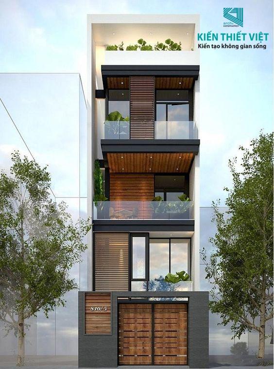 giá xây nhà 4 tầng