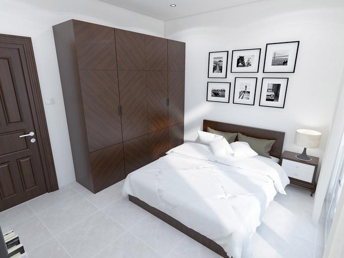 Phòng ngủ cho ba mẹ