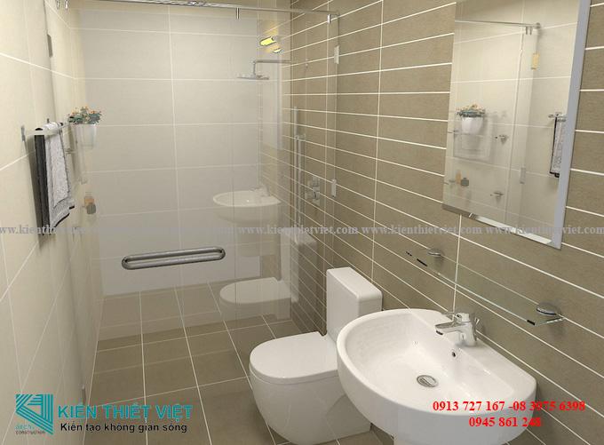 Phòng tắm NHÀ 2,5 TẦNG 38 m2 Ở SÀI GÒN VỚI 640 TRIỆU