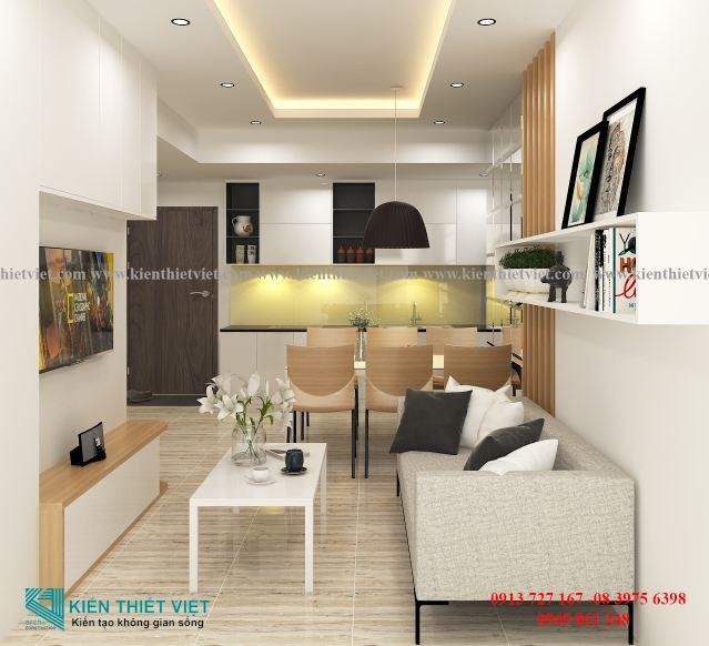 thiết kế nội thất nhà 1 trệt 1 lầu