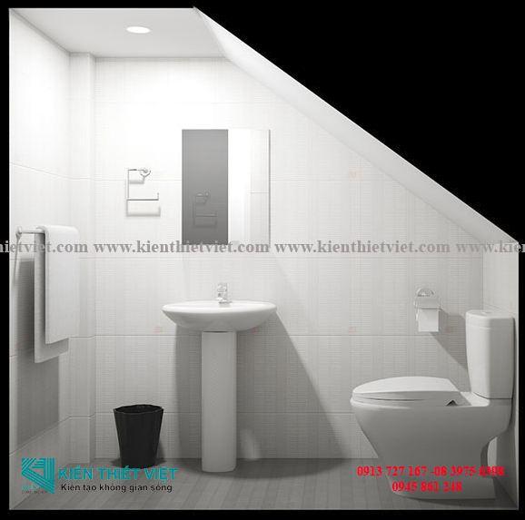 phòng tắm Nhà phố 3 tầng 35 m2 700 triệu
