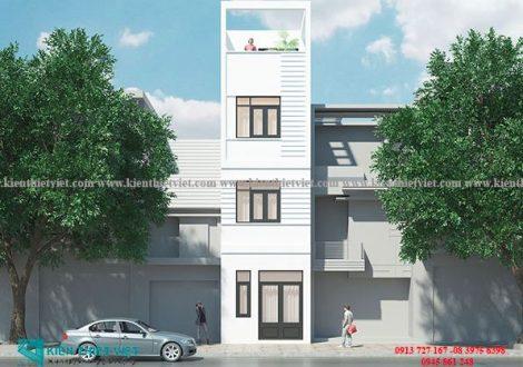 nhà phố 3 tầng 35 m2 700 triệu