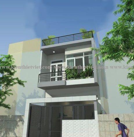 nhà 2 tầng 40 m2