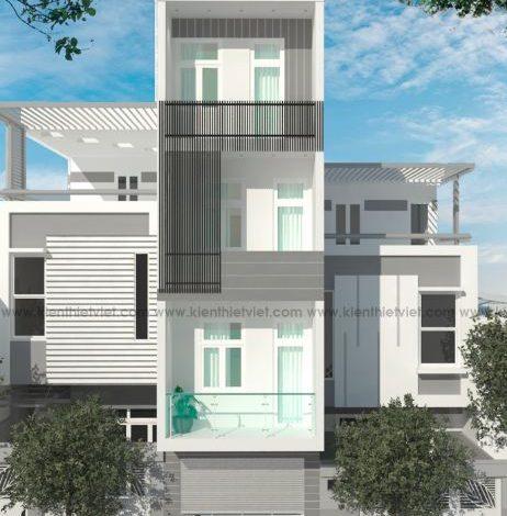 nhà phố 4 tầng 1 mặt tiền