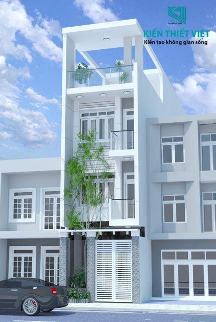 chi phí xây nhà 4 tầng trọn gói