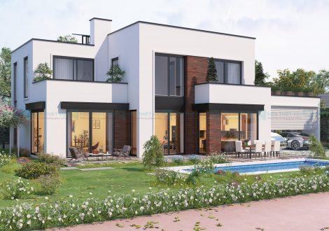 thiết kế xây dựng biệt thự nhà vườn