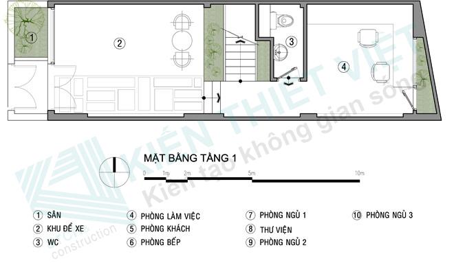 nhà ống 4 tầng 52 m2 2