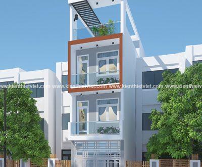 nhà 4 tầng 70 m2