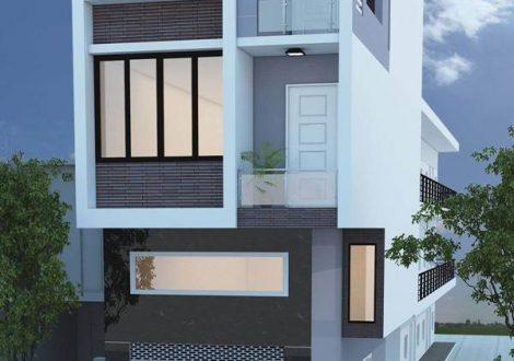nhà 3 tầng 50 m2
