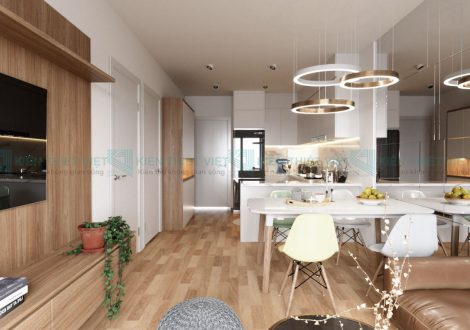 nội thất căn hộ 70 m2