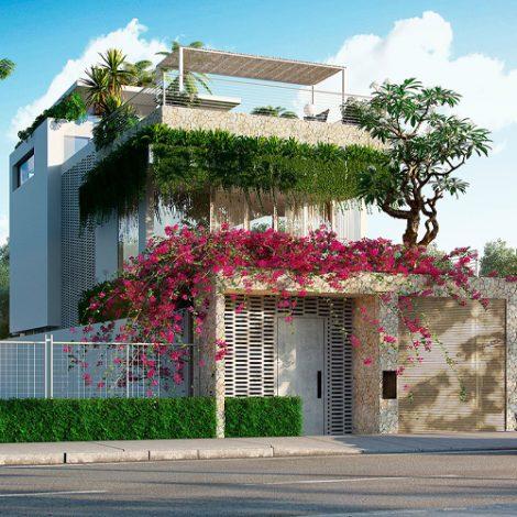 chi phí xây nhà 2 tầng 100 m2