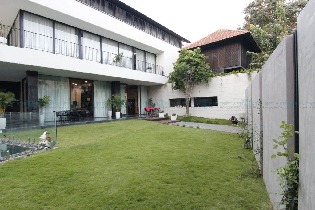 Thiết kế thi công biệt thự hiện đại 2