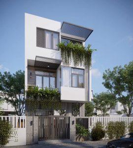 mẫu nhà phố 3 tầng 3