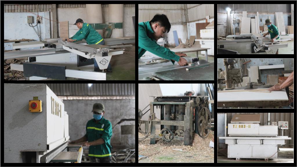 xưởng nội thất Kiến Thiết Việt