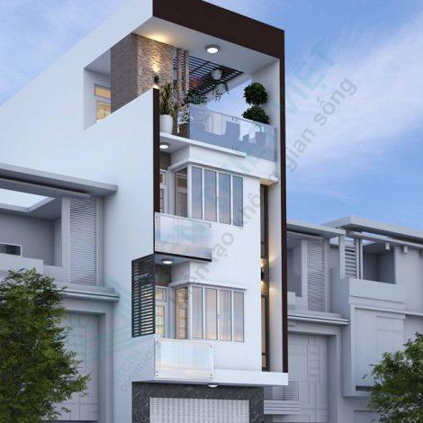 nhà phố 3 tầng 140 m2
