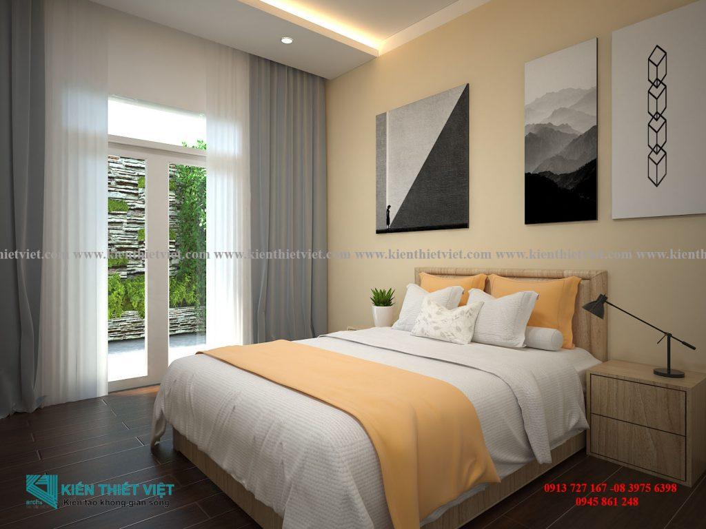 Phòng ngủ NHÀ PHỐ 4 TẦNG 1 TUM 80 m2