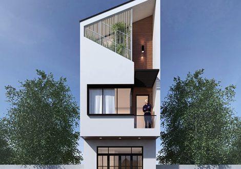 mẫu nhà phố 3 tầng 4