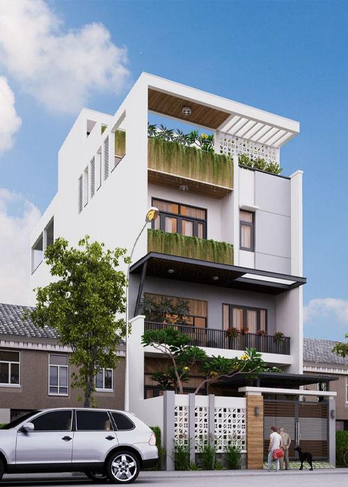 xây nhà phố trọn gói