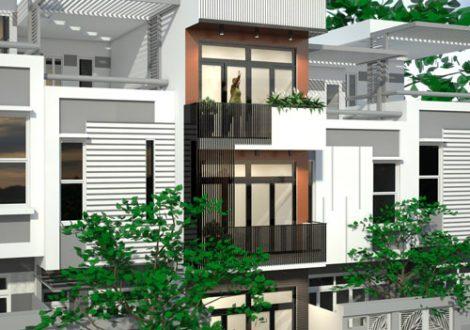 xây nhà 4 tầng 50 m2