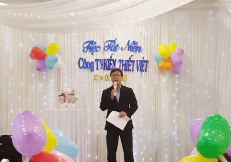 Giám đốc Huỳnh Xuân Hải phát biểu khai mạc