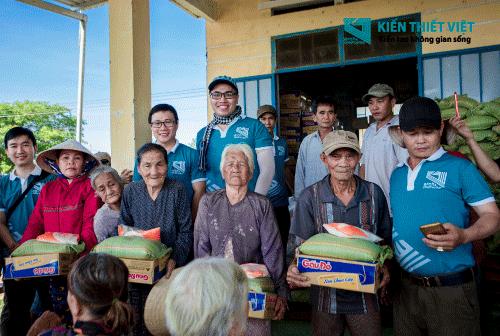 hoạt động từ thiện công ty xây dựng Kiến Thiết Việt