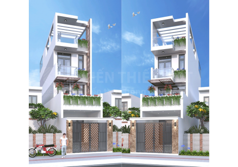 thiết-kế-kiến-trúc-nhà-phố-1-trệt-2-lầu