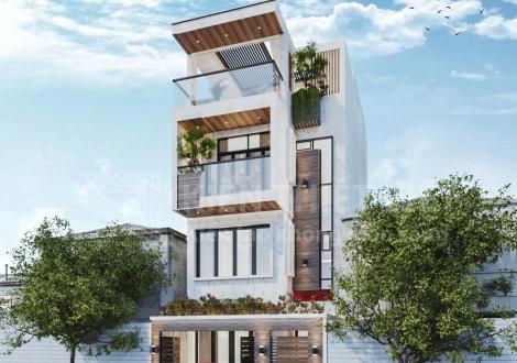 thiết kế nhà phố - chị Sương (2)