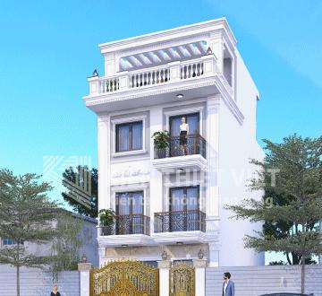 thiết kế nhà phố tân cổ điển (3)