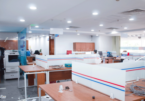 thi công nội thất văn phòng làm việc bảo hiểm viettin bank (3)