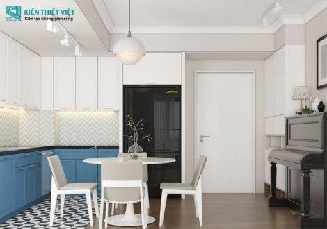 thiết kế nội thất căn hộ palm heights