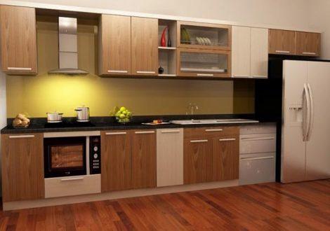 tủ bếp gỗ công nghiệp 4