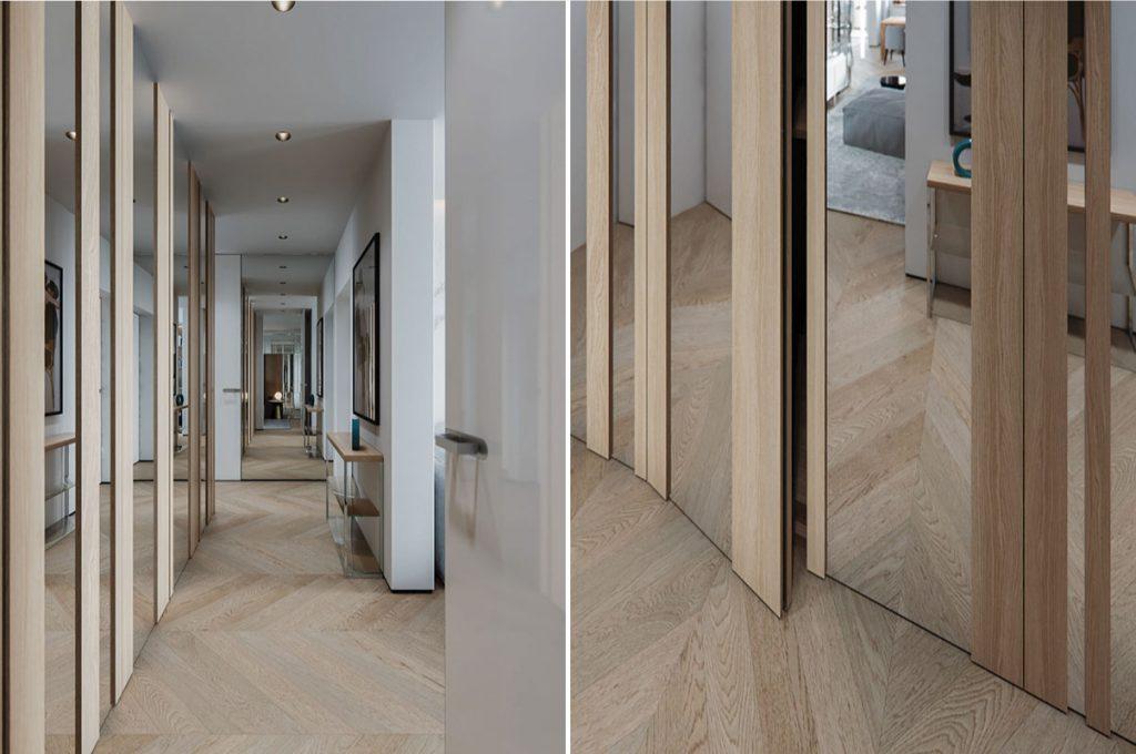 thiết kế nội thất căn hộ chung cư 102m2