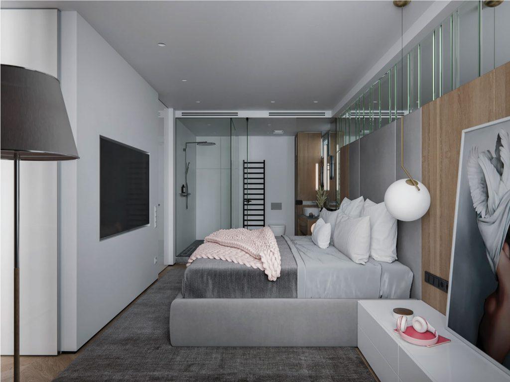 Thiết kế phòng ngủ phá cách