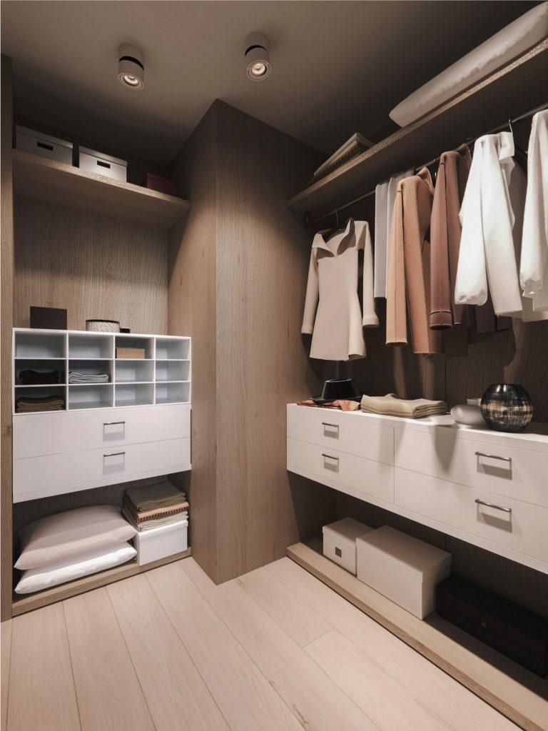 thiết kế nội thất căn hộ chung cư 2 tầng