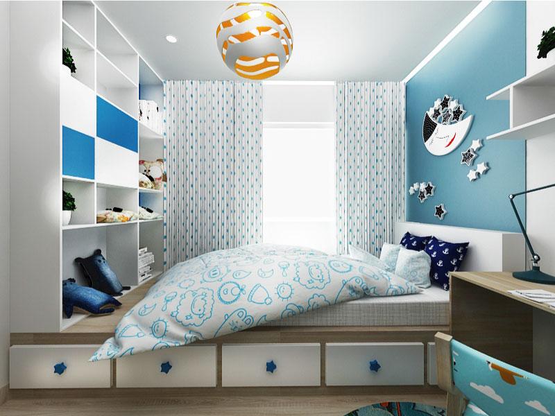 mẫu thiết kế phòng ngủ cho bé trai