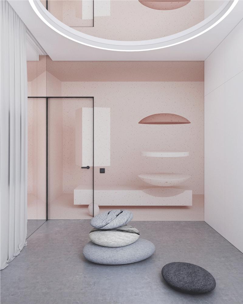 thiết kế nội thất phòng thiền