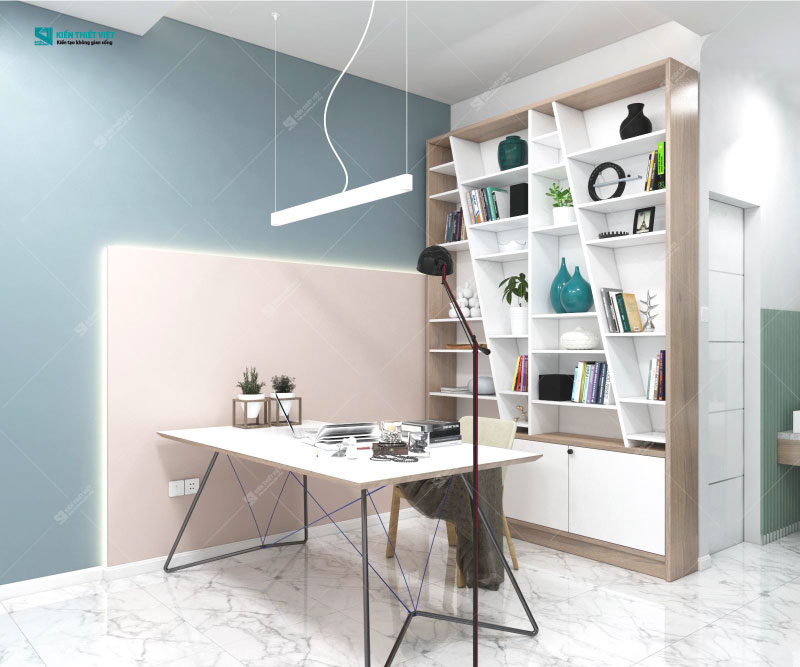 nội thất color block