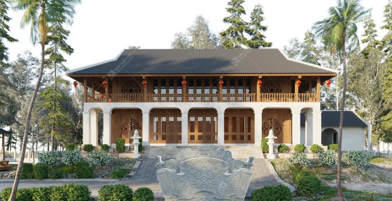 thiết kế nhà gỗ gia lai