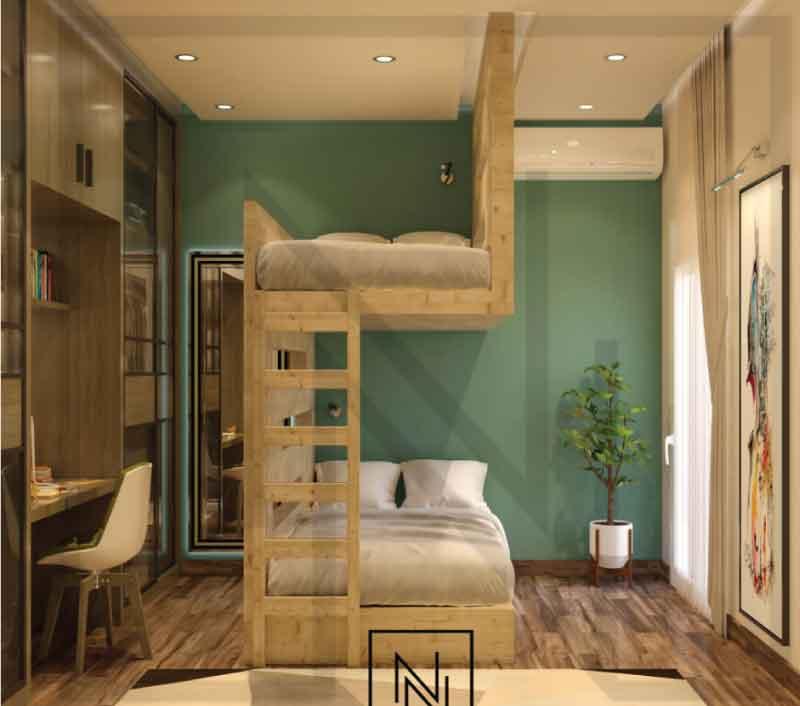 giường tầng sáng tạo