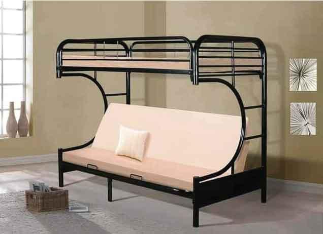 giường tầng kết hợp ghế sofa