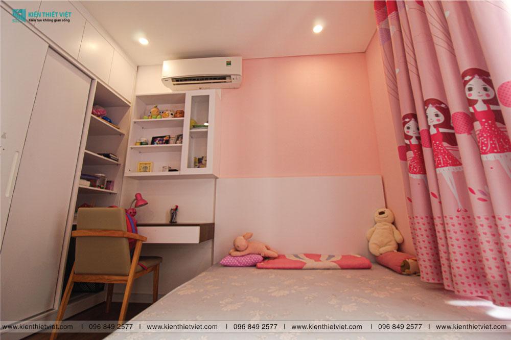 phòng ngủ con gái căn hộ thủ thiêm dragon