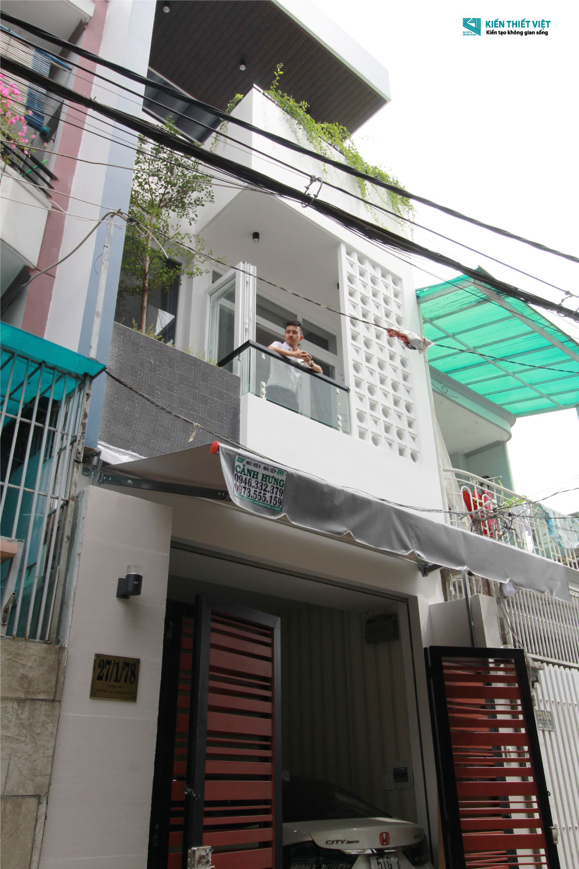 mặt tiền nhà phố 1 trệt 2 lầu