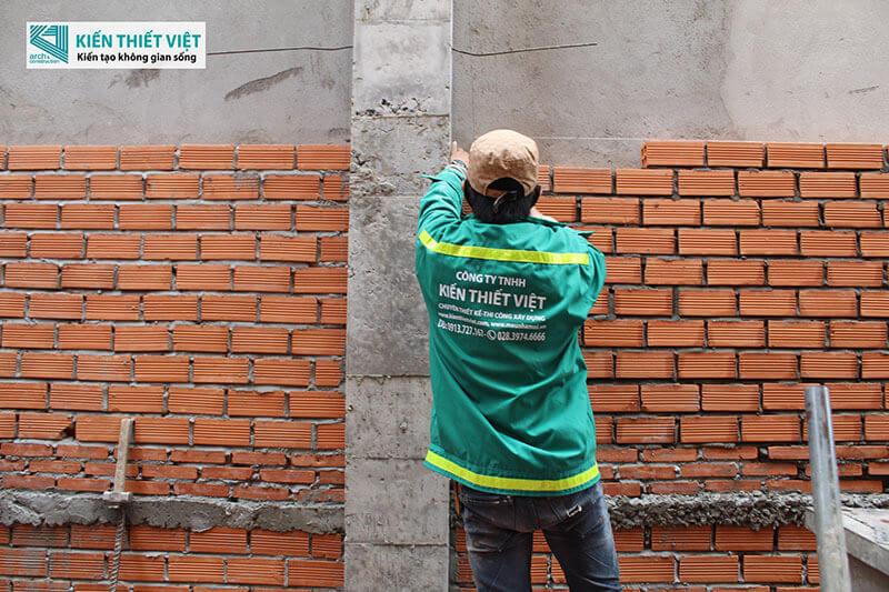 Xây tường 1