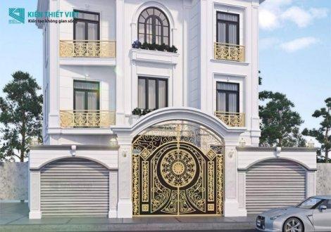 Villa biệt thự phố tân cổ điển tại bình tân