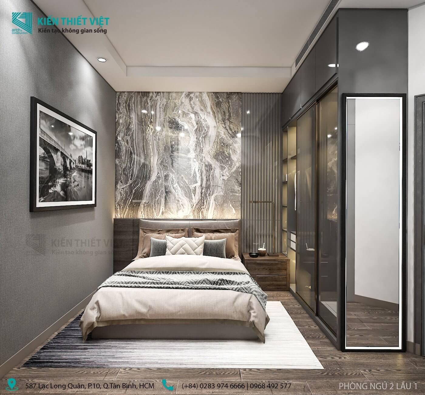 tầng 1 phòng ngủ 2